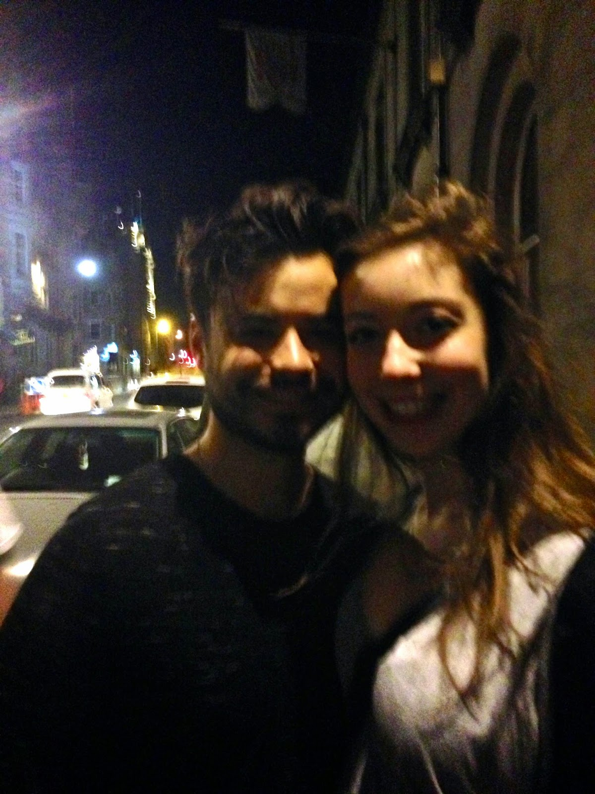 Young Guns concert tour at Electric Circus, Edinburgh | meeting Simon after the show