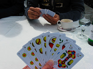 Swiss card game