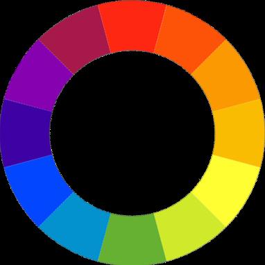 Adantko la colorim trie en maquillage - Roue chromatique peinture ...
