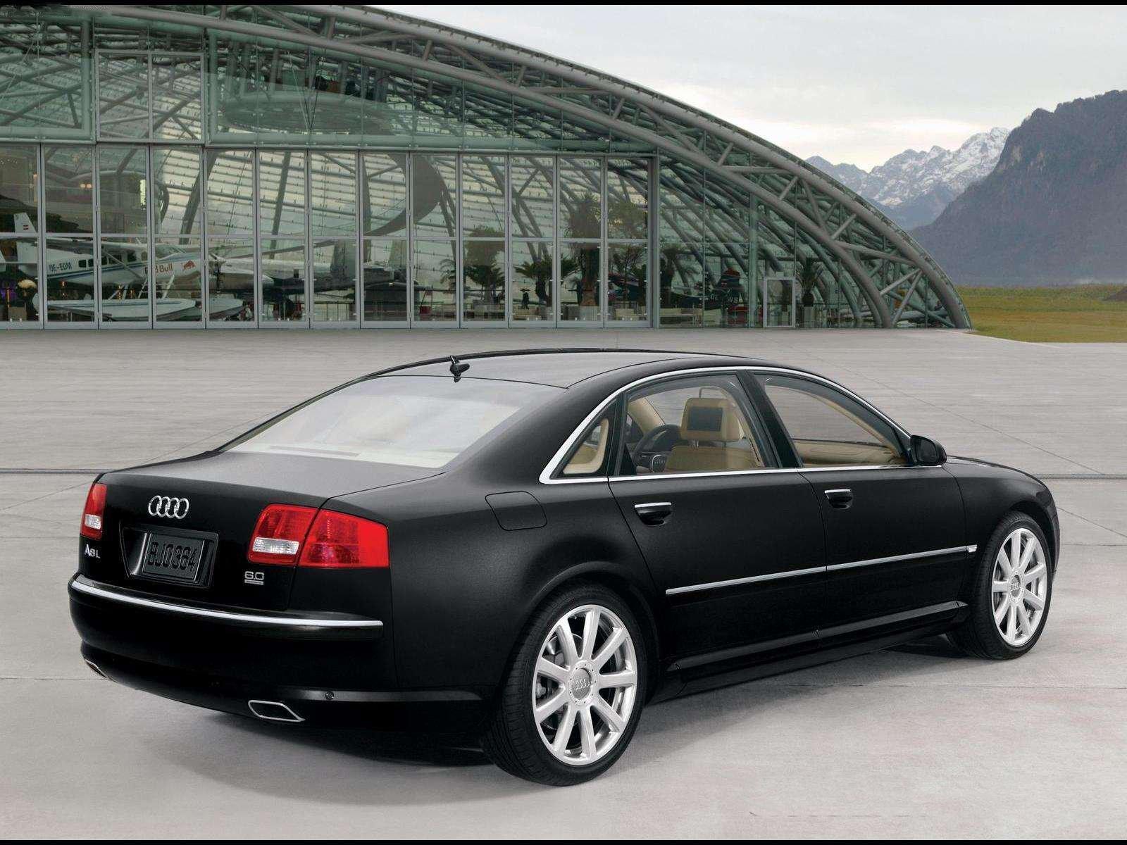 Audi a8 l 6 0 w12 quattro 2004 picture 3 of 5 rear angle image - Audi A8 L Rear View