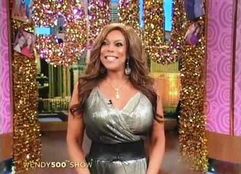 Wendy Williams upskirt - Television