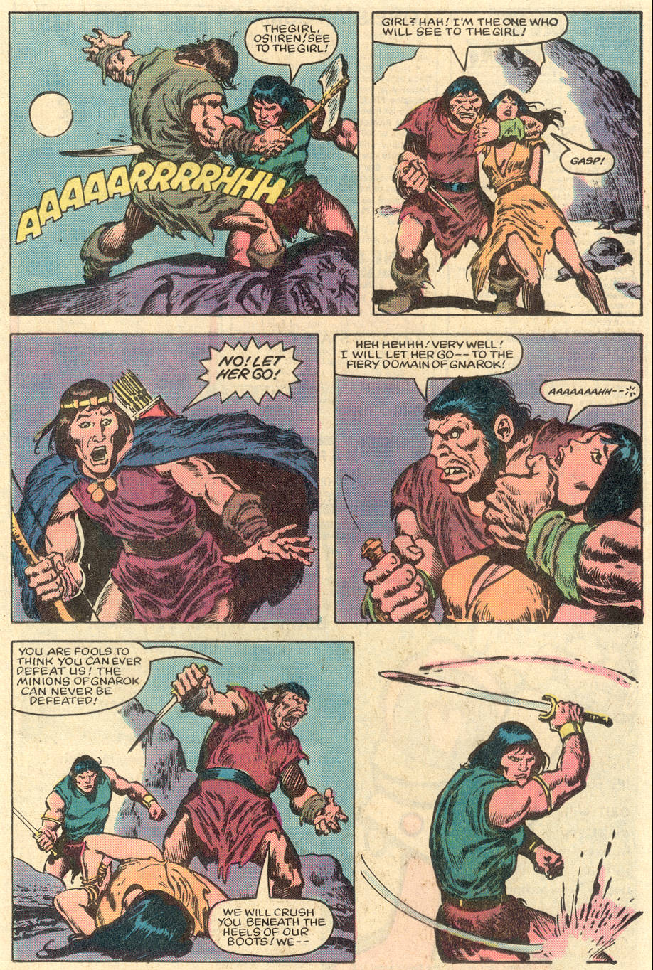 Conan the Barbarian (1970) Issue #151 #163 - English 16