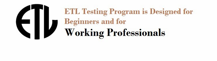 ETL Testing Online Training and Placement Assistance In UK