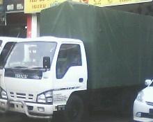 wooden cargo front