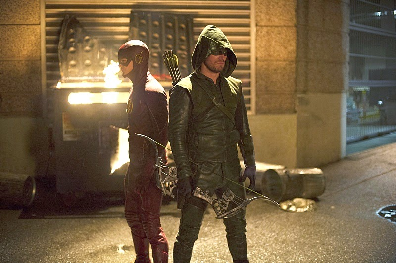the flash,arrow,superheroes