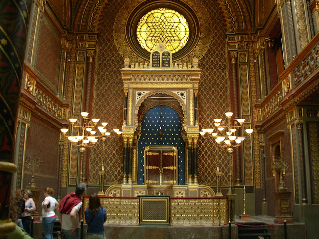 The Spanish Synagogue in the Jewish Quarter, Prague, Czech Republic