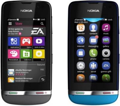 Harga Nokia Asha Terbaru Maret 2013, Daftar Harga Nokia Asha, Terbaru Maret 2013