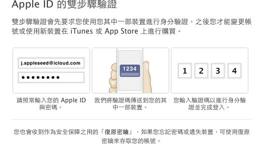 開啟 Apple ID 兩步驟驗證 iTunes 與 App Store 更安全