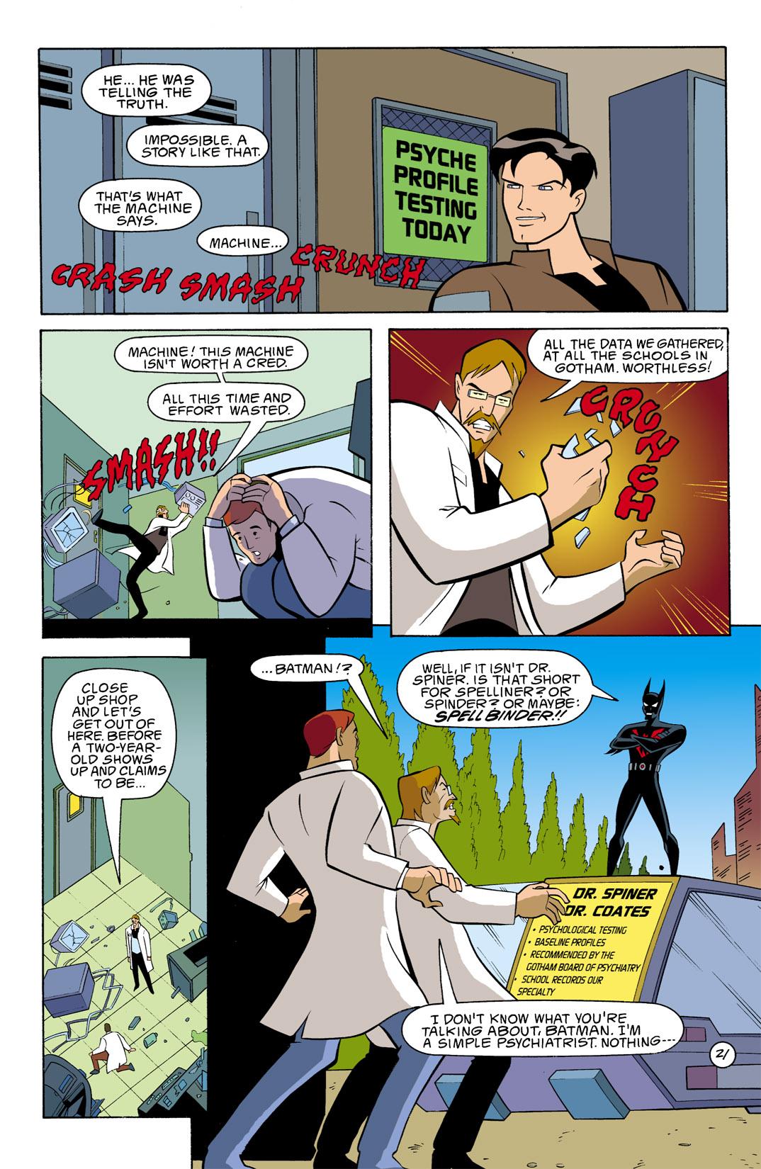 Batman Beyond [II] Issue #7 #7 - English 22