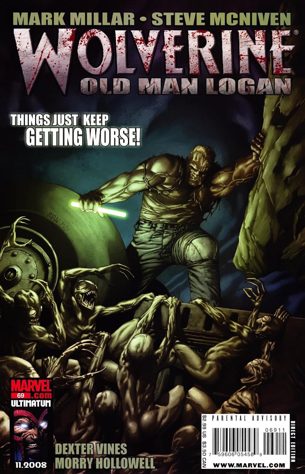 Read online Wolverine (2003) comic -  Issue #69 - 1