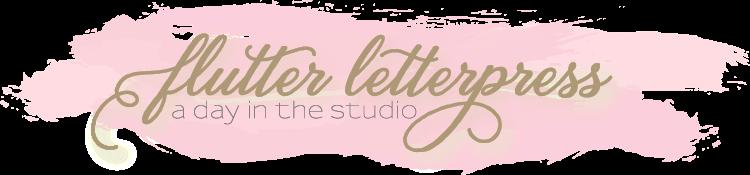 Flutter Letterpress