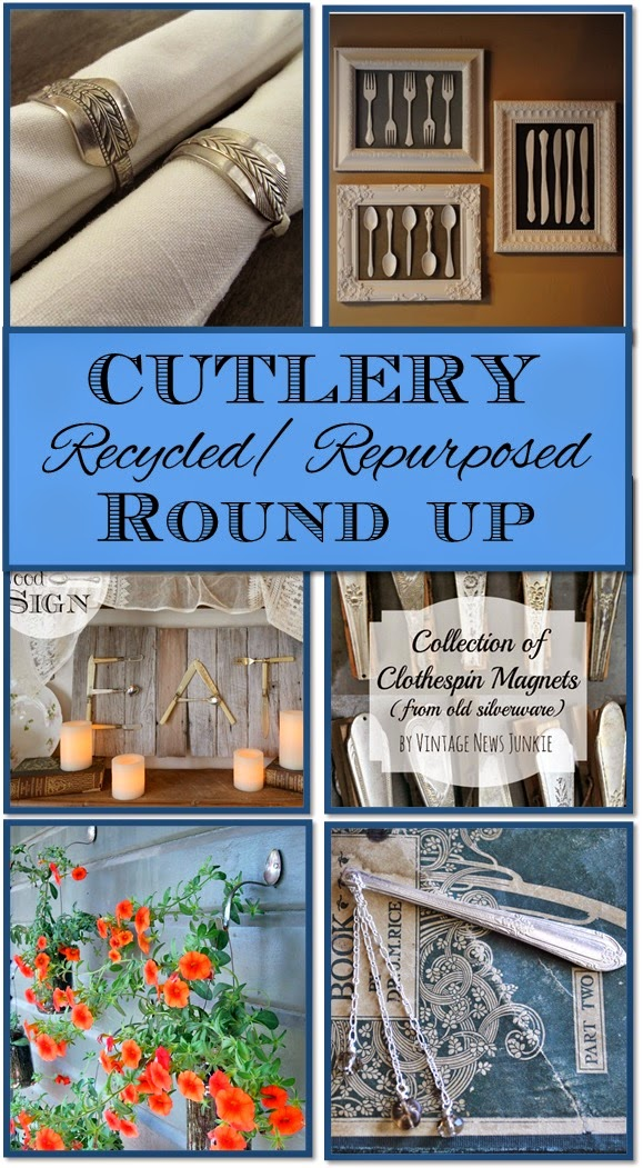 10 Recycled/Repurposed Cutlery Round Up
