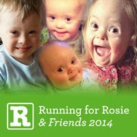 Running for Rosie & Friends 2014