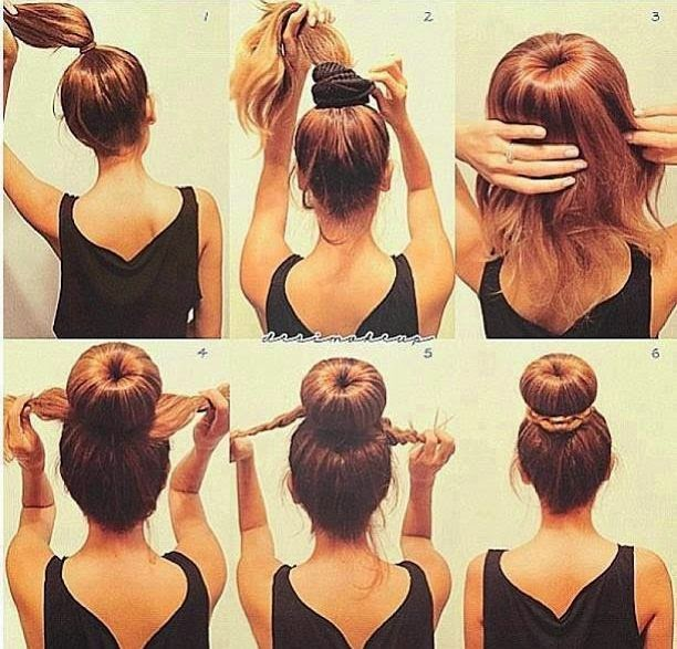 Jak związywać włosy do snu.