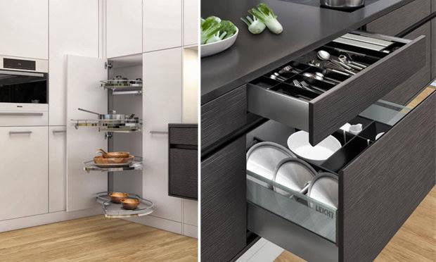 Como Dizer Armario De Cozinha Em Ingles ~ Construindo Minha Casa Clean Cozinhas Integradas Inteligentes e Clean!!! Amo!