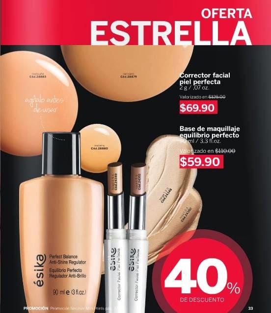 maquillaje esika c-2 2015 mexico