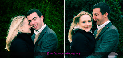The benefits of a pre-wedding session are that you receive great images, like Rachel and Richard.