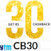 Paytm coupan providing Rs.10 Cashback On Rs.30