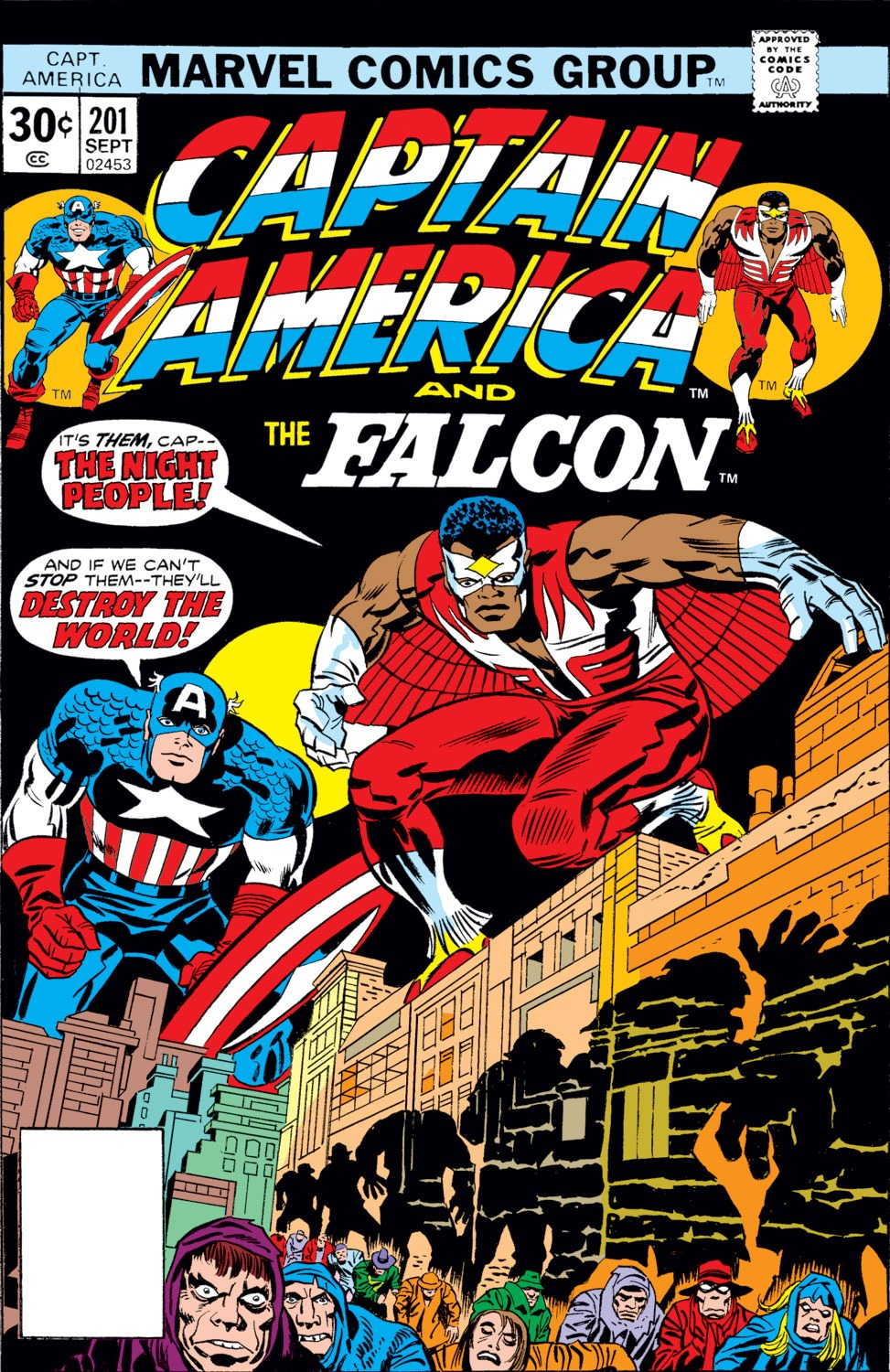 Captain America (1968) Issue #201 #115 - English 1