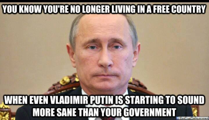 You Know You're No Longer Living In A Free Country - Image Copyright BlogSpot.Com