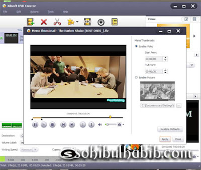 Xilisoft DVD Creator 7.1.3 Full Serial