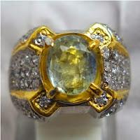 Cincin Batu Permata Sapphire Ceylon