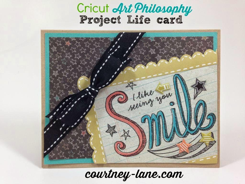 Art Philosophy Project Life Card