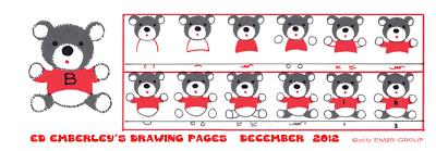 Ed Emberley's Bear Drawing Page