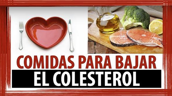 Conspiraciones y noticias actuales comidas para bajar el - Alimentos beneficiosos para el colesterol ...