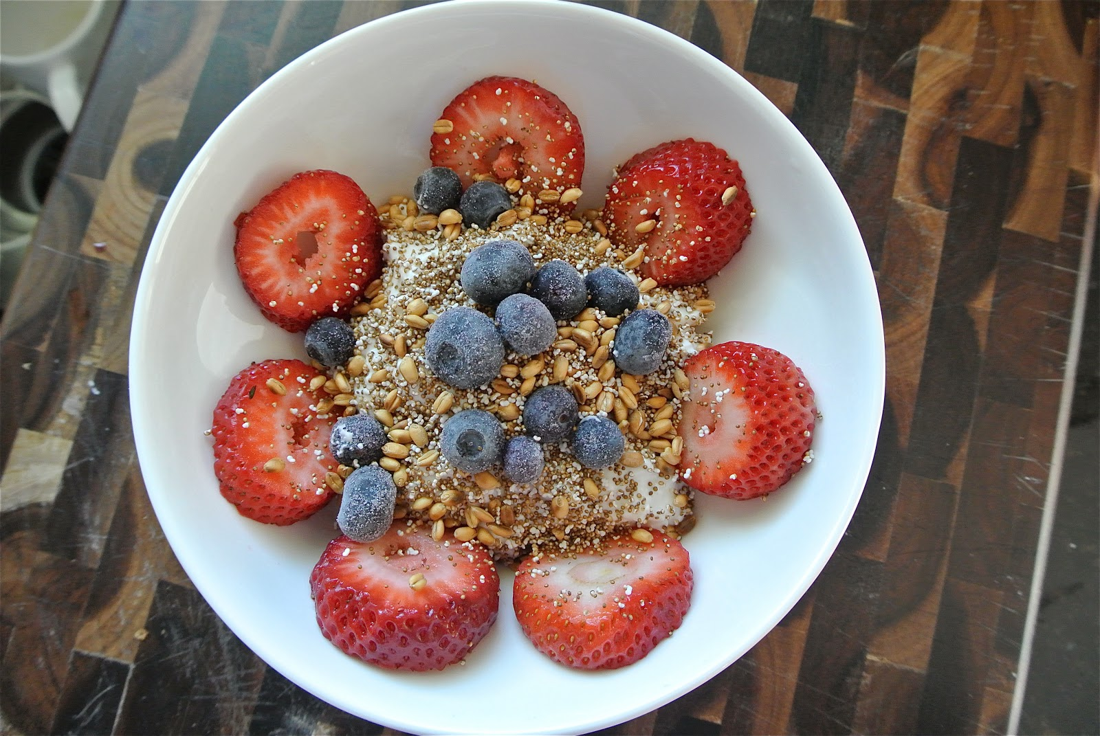 Popped Amaranth and Toasted Wheat Berry Breakfast Sundae - The Candid ...