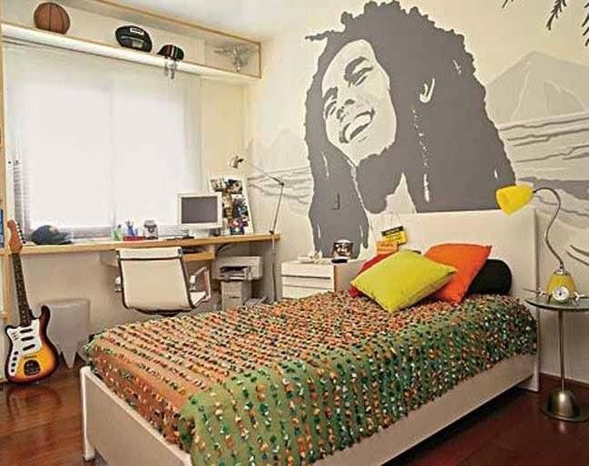 desain kamar tidur cowok simple minimalis menata rumah