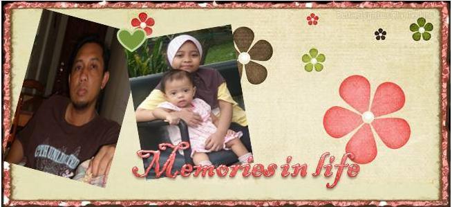 Memories in life