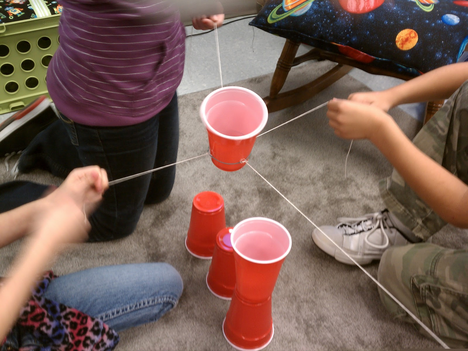 Science Gal: Setting Expectations for Group Work