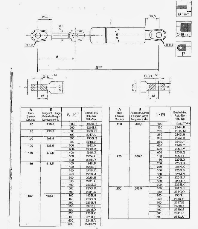 Standard Compression Springs Catalogue Stock Conical