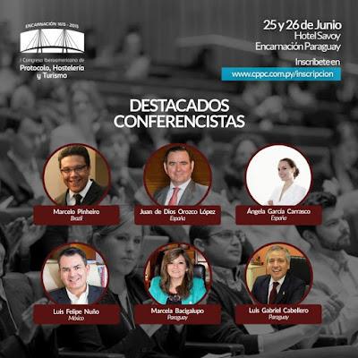 Juan de Dios Orozco, profesor del Especialista en Protocolo de la UDC, participa en congreso de Paraguay