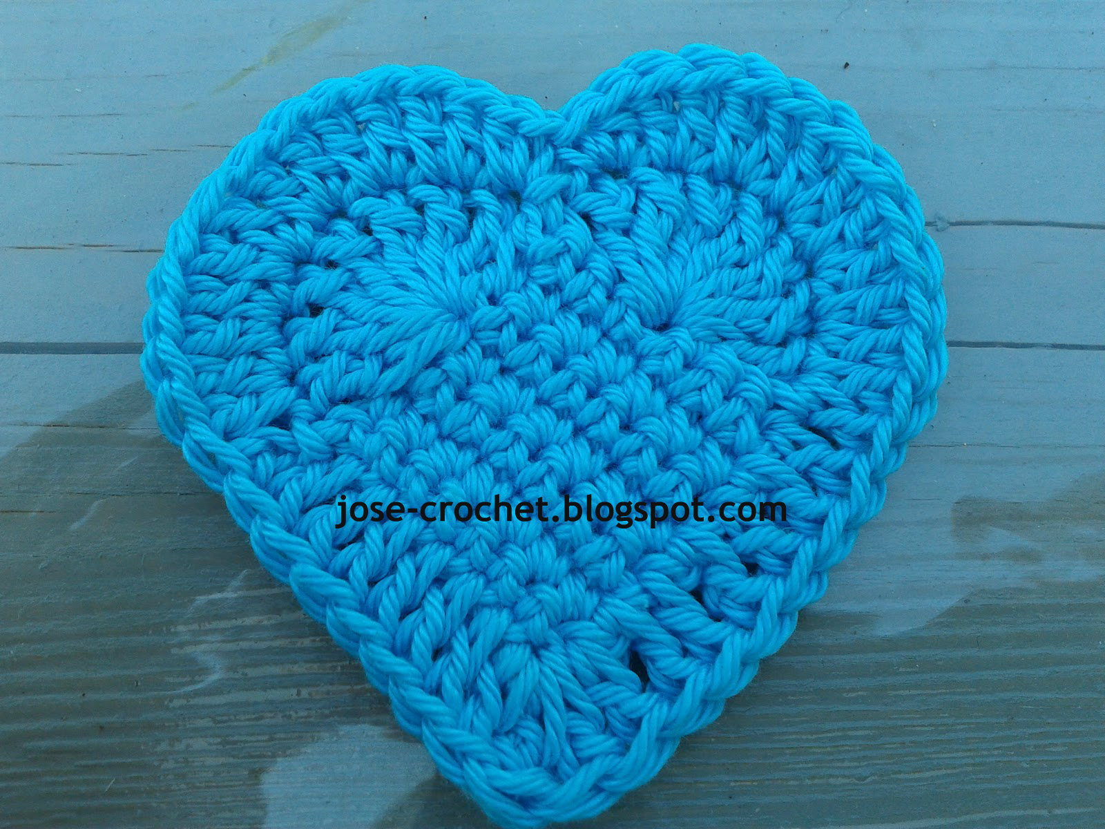 Crochet Heart : JosE Crochet: Free crochet pattern heart ?
