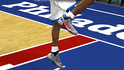 NBA 2K13 Nike Hyperfuse 2013 Shoes RGB