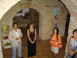 """Exposición """"Al brillo de la seda""""  La Redondela (Huelva)"""