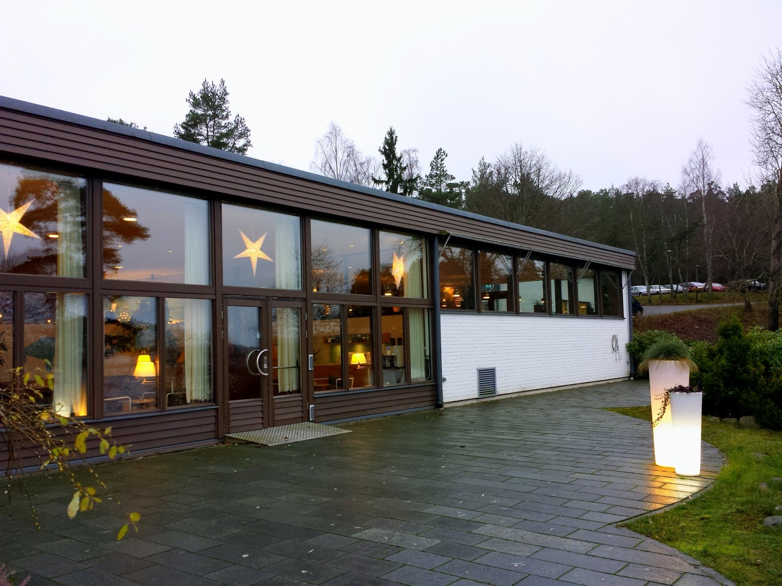 Skepparholmen Spa Hotel in Nacka, Stockholm + Swedish sauna customs  |  Swedish sauna rituals and snow flurries by the sea on afeathery*nest  |  http://afeatherynest.com