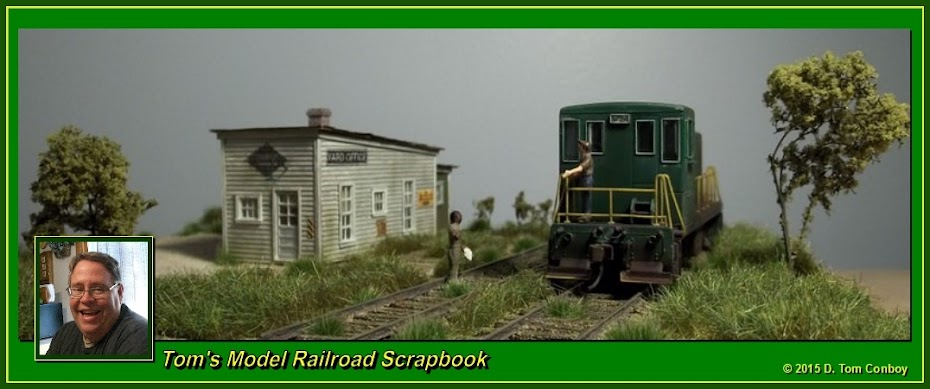 Tom's Model Railroad Scrapbook