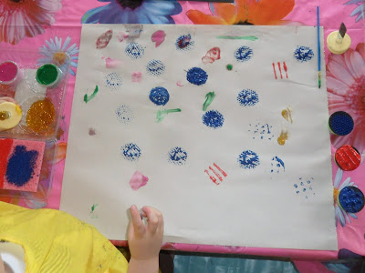 activity for kids, fine motor skill practice, creativity, different painting supplies
