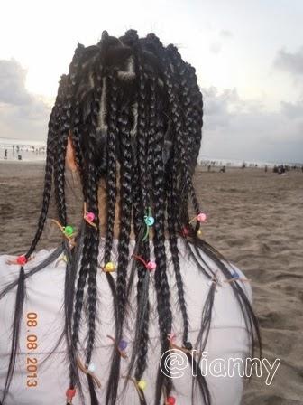 Foto Model  Rambut Di Kepang