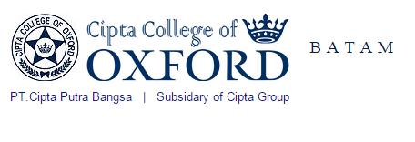 Lowongan Kerja Terbaru CIPTA College of Oxford (Cipta Group) Batam 2015