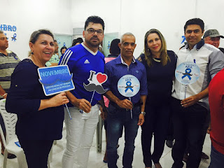 Novembro Azul: Saúde de Baraúna realiza palesta sobre Saúde do homem