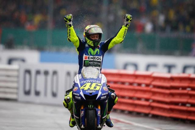 MotoGP : Akankah gelar juara musim 2015 ini menjadi milik Valentino Rossi ?