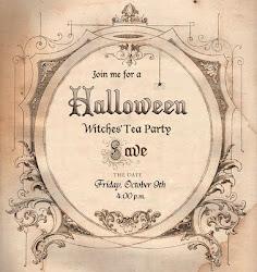 invito al tè delle streghe