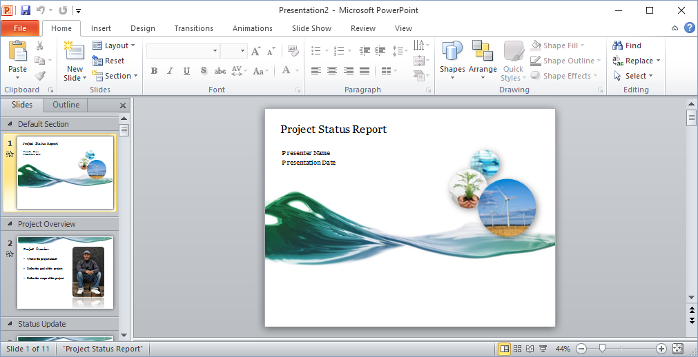 How to Make Video from MS Power Point Presentations in Windows ...