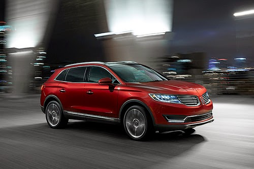 The 2016 Lincoln MKX Makes Official Debut