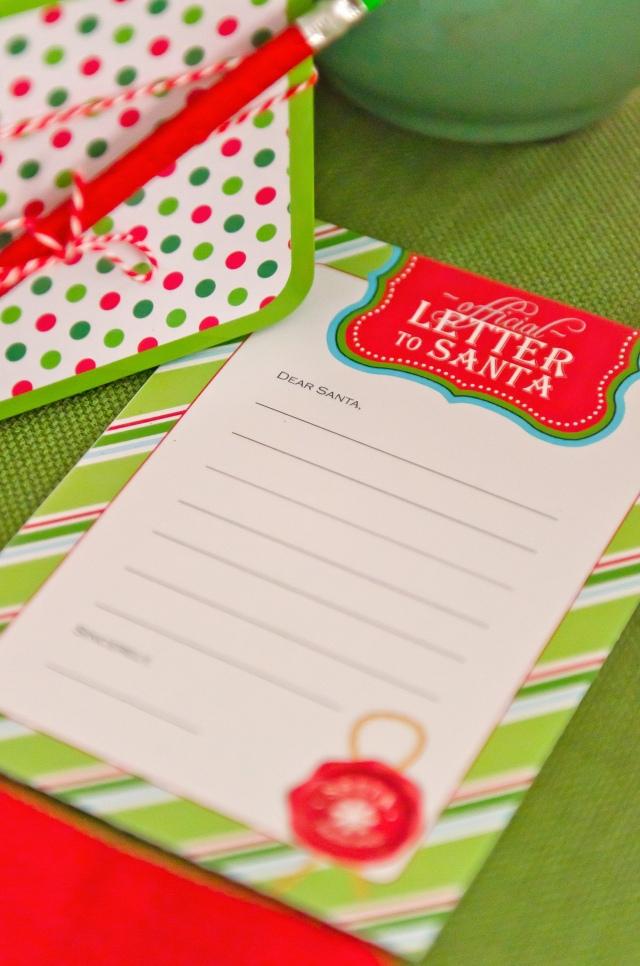 Kara\'s Party Ideas Christmas Card Writing Party | Kara\'s Party Ideas
