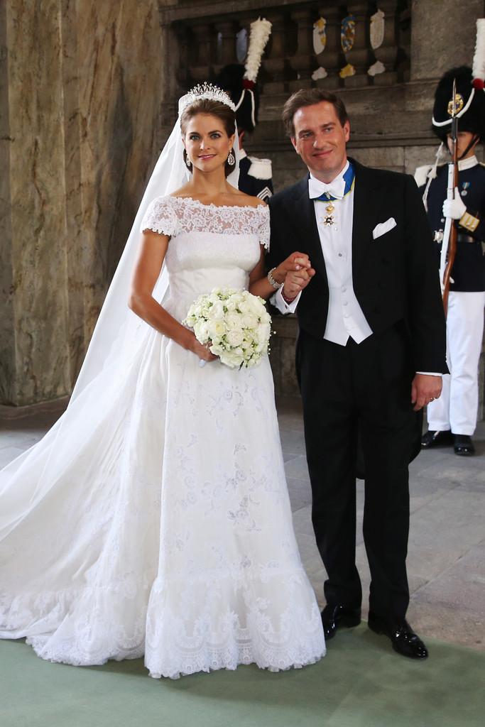 Princess Madeleines Wedding Gown